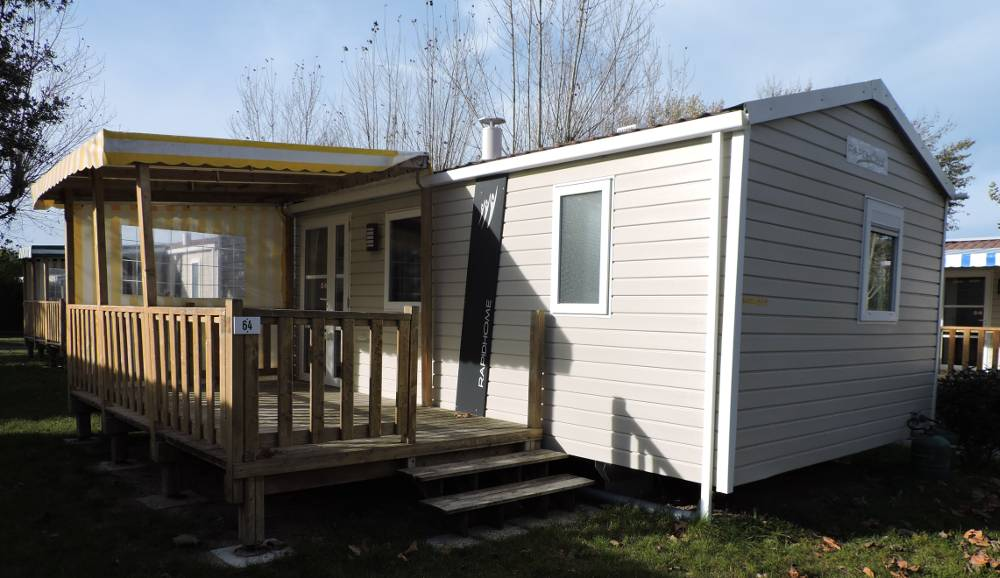 mobilhome lodge 2 chambres