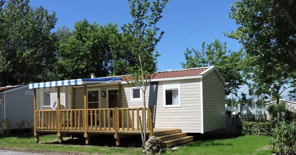 mobilhome lodge 3 chambres