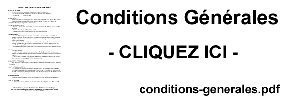 conditions generales